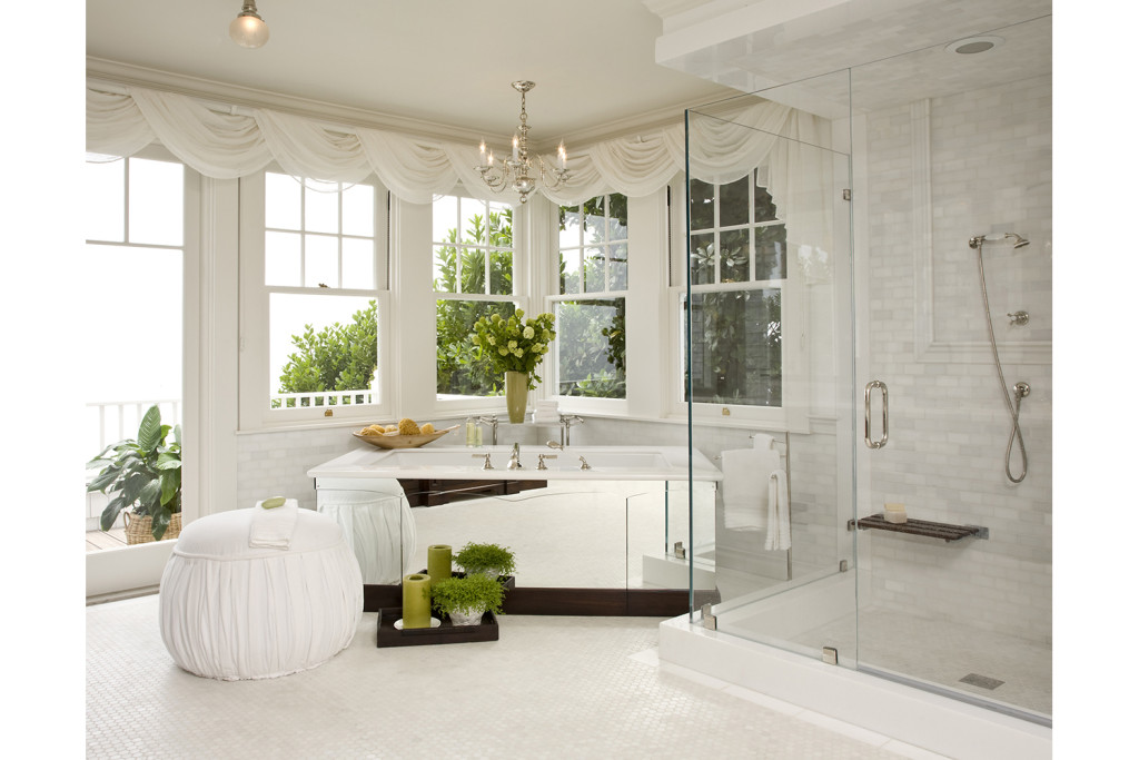Bathroom window treatments houzz timberwall bedroom Bathroom remodel durham nc